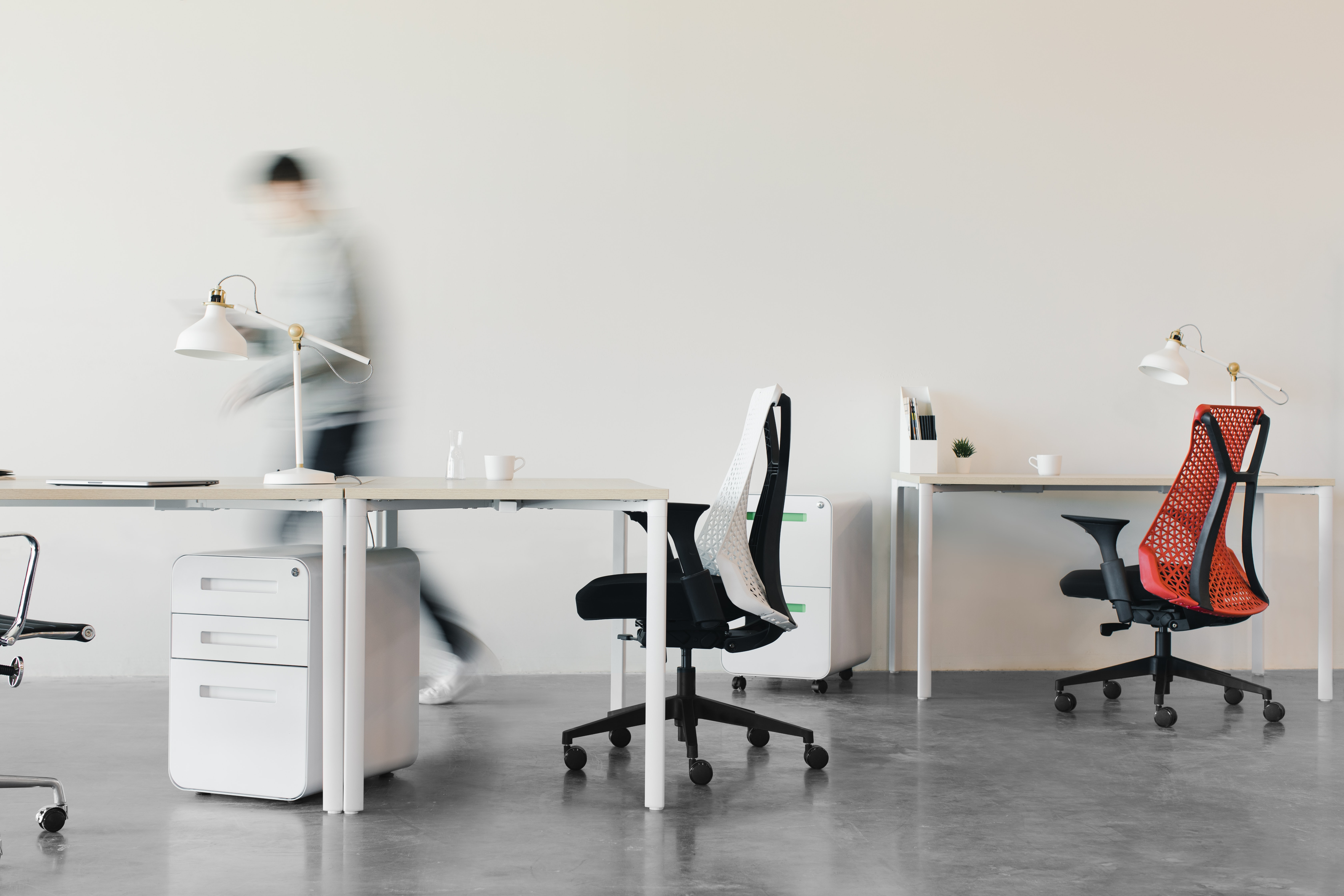 Empty working space